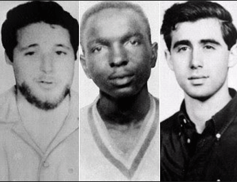 James Chaney, Andrew Goodman, and Michael Schwerner